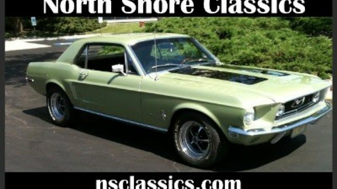 1968 Ford Mustang for sale 100818193