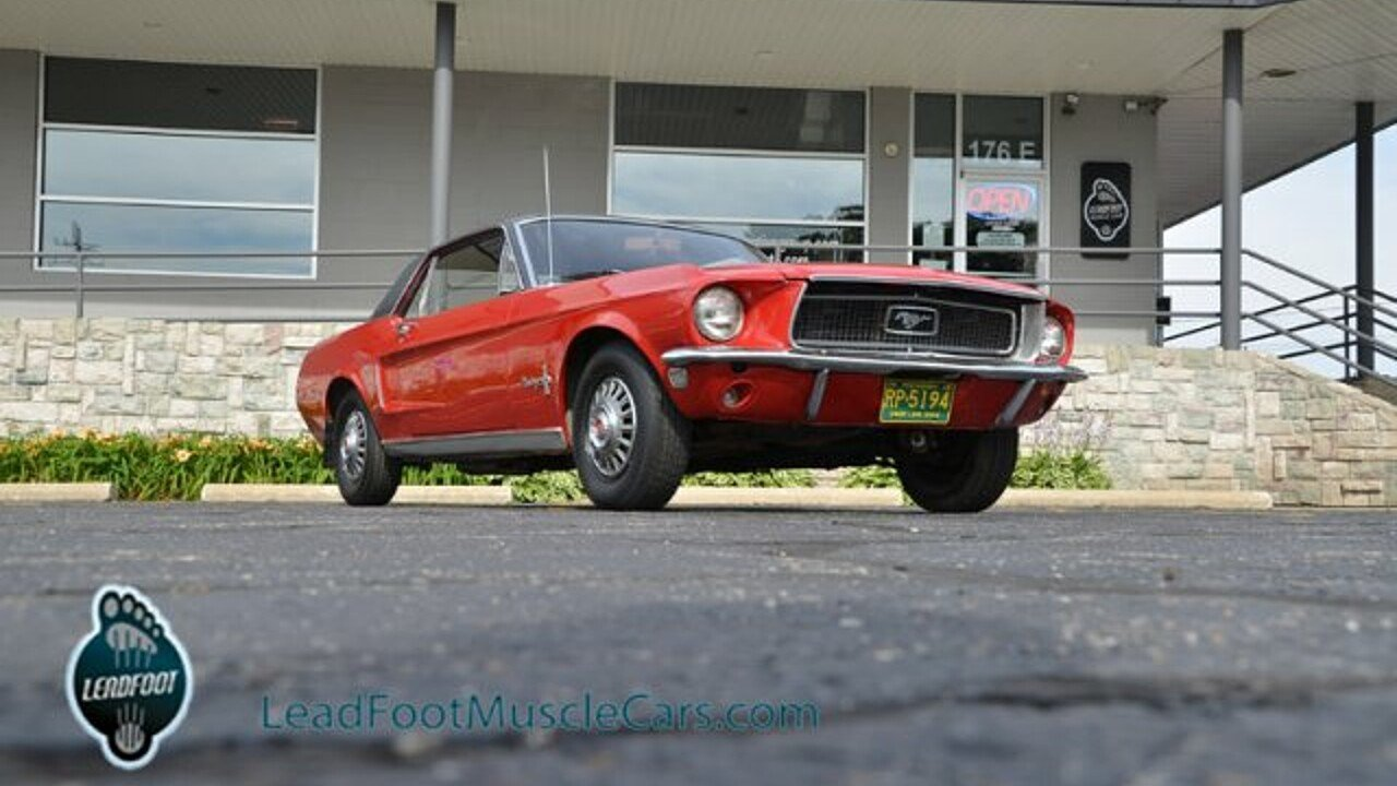 1968 Ford Mustang for sale near Holland, Michigan 49424 - Classics ...