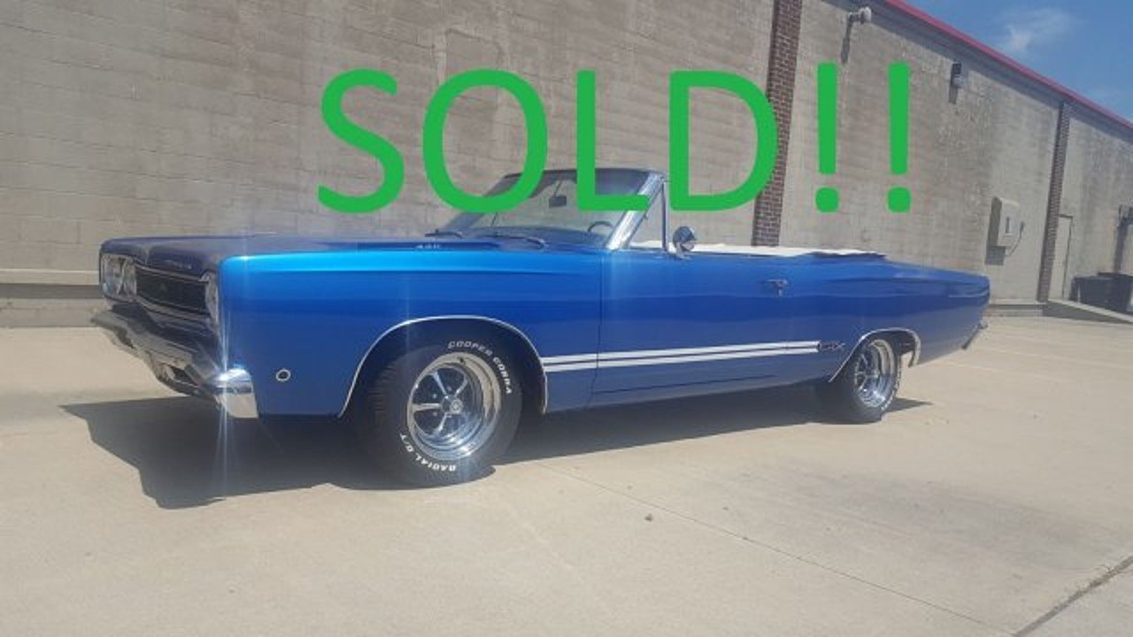 1968 Plymouth GTX for sale 100891163