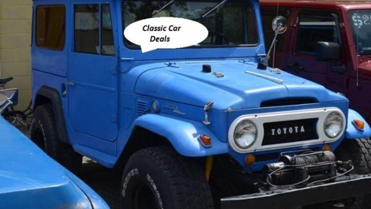 1968 Toyota Land Cruiser for sale near Cadillac, Michigan 49601 ...