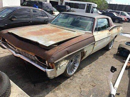 1968 chevrolet Impala for sale 100854944