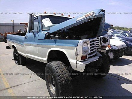 1968 ford F250 for sale 101016155