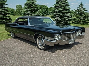 1969 Cadillac De Ville for sale 100950965