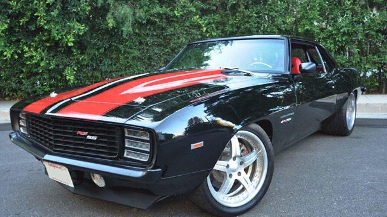 1969 Chevrolet Camaro for sale near Los Angeles, California 90034 ...
