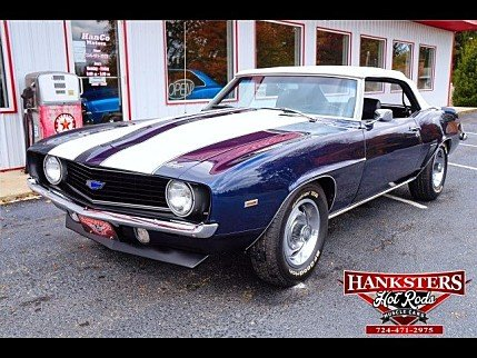 1969 Chevrolet Camaro Convertible for sale 100916634