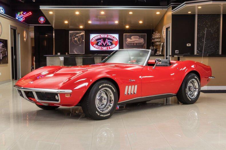 1969 Corvette Stingray >> 1969 Chevrolet Corvette Classics For Sale Classics On Autotrader