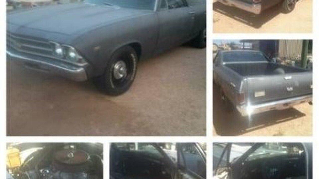 1969 Chevrolet El Camino for sale near Cadillac, Michigan 49601 ...