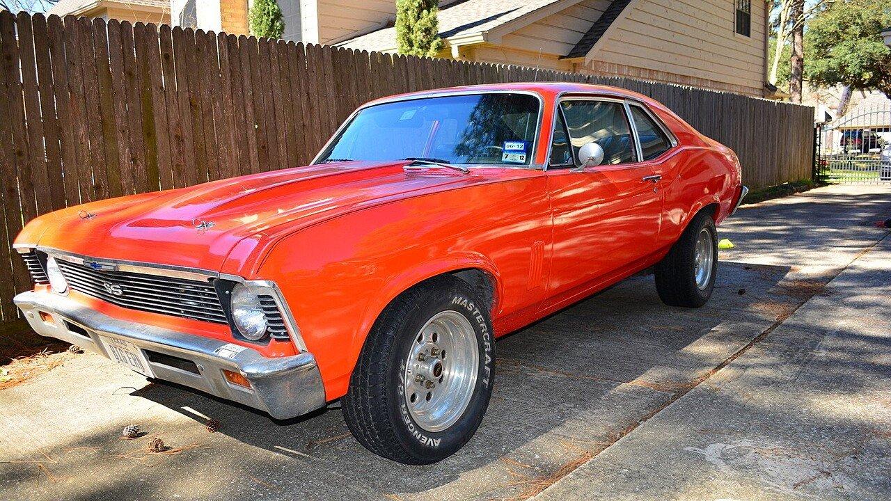 1969 Chevrolet Nova Coupe for sale near Spring, Texas 77379 ...