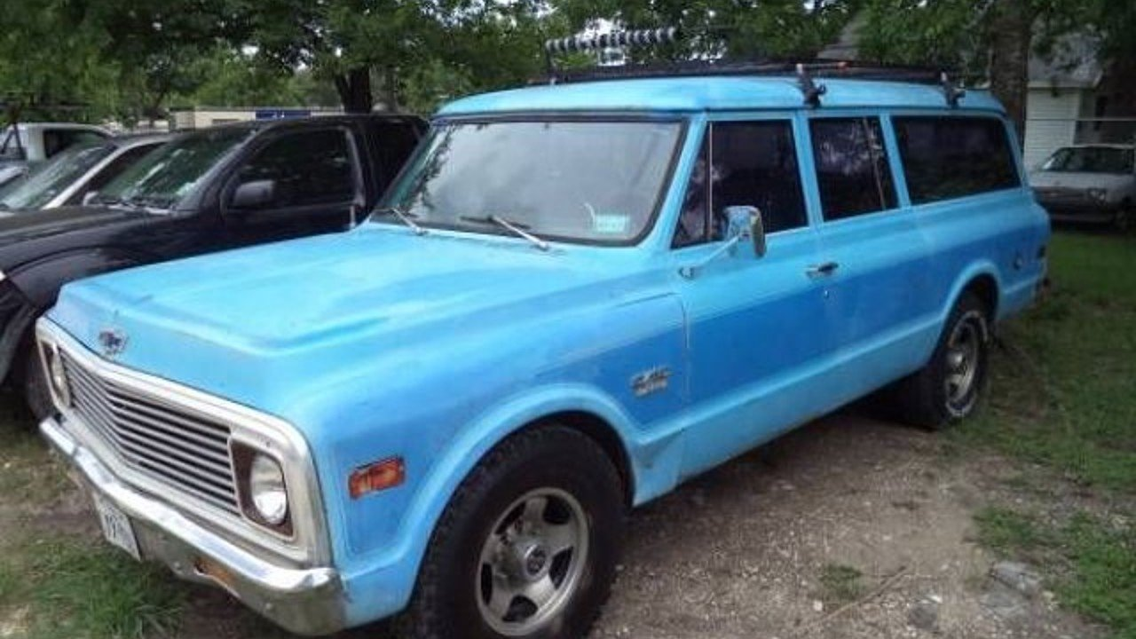 1969 chevrolet suburban for sale near cadillac michigan 49601 classics on autotrader. Black Bedroom Furniture Sets. Home Design Ideas