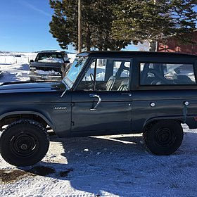 1969 Ford Bronco for sale 100847416