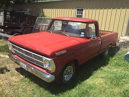 1969 Ford F100 for sale 100825219