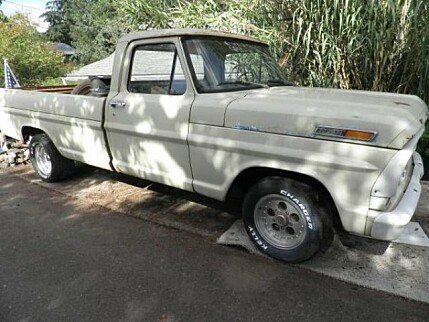 1969 Ford F100 for sale 100836508