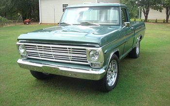 1969 Ford F100 2WD Regular Cab for sale 100840857