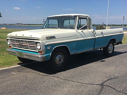1969 Ford F250 2WD Regular Cab for sale 100990617