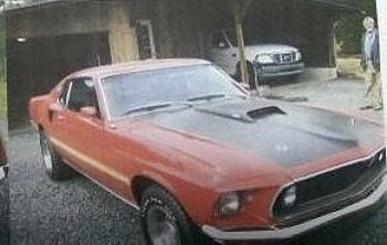 1969 Ford Mustang for sale 100824926