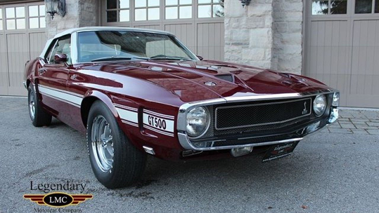 1969 Ford Mustang For Sale Near Youngstown New York 14174 Gt500 100831911