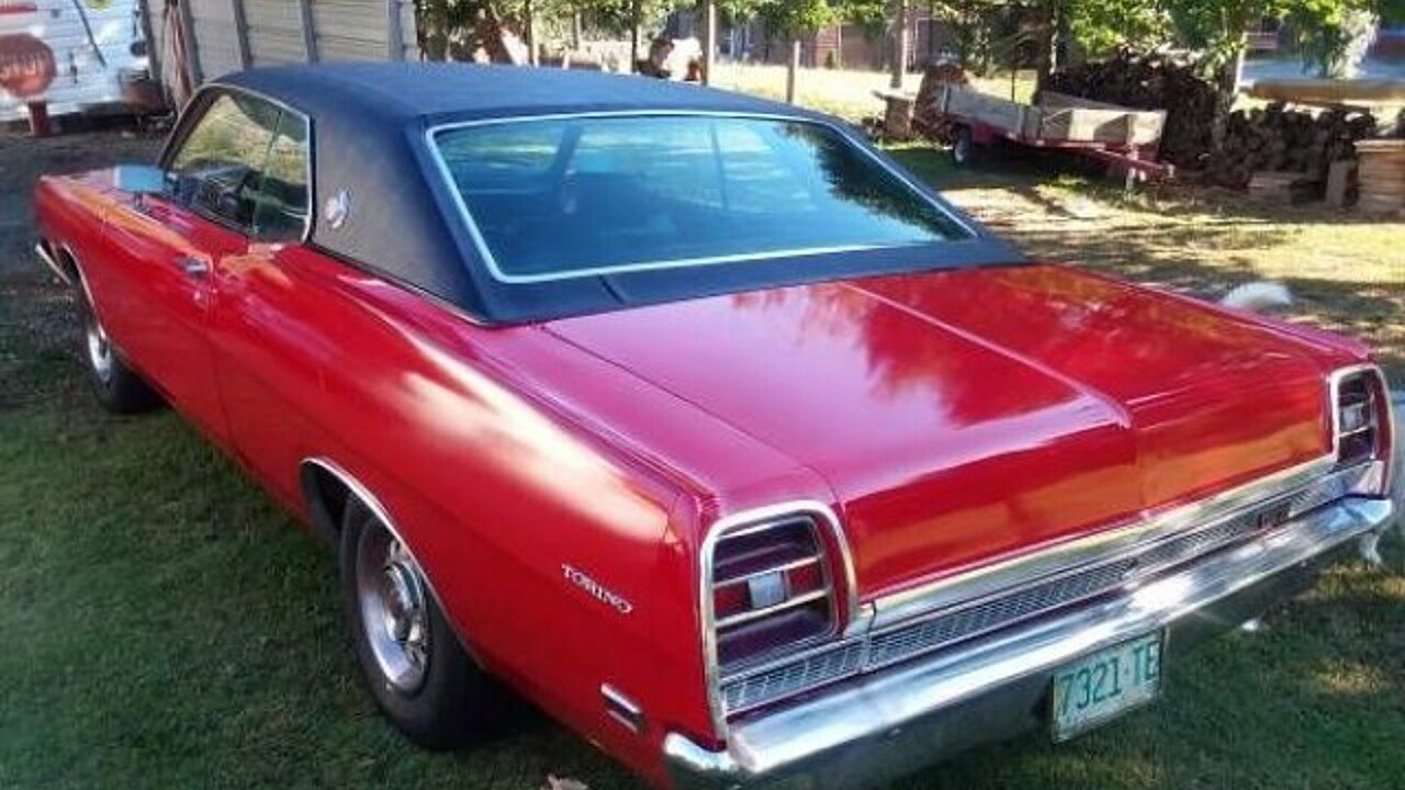 1969 Ford Torino For Sale Near Cadillac Michigan 49601 Classics Gt Convertible 100928396