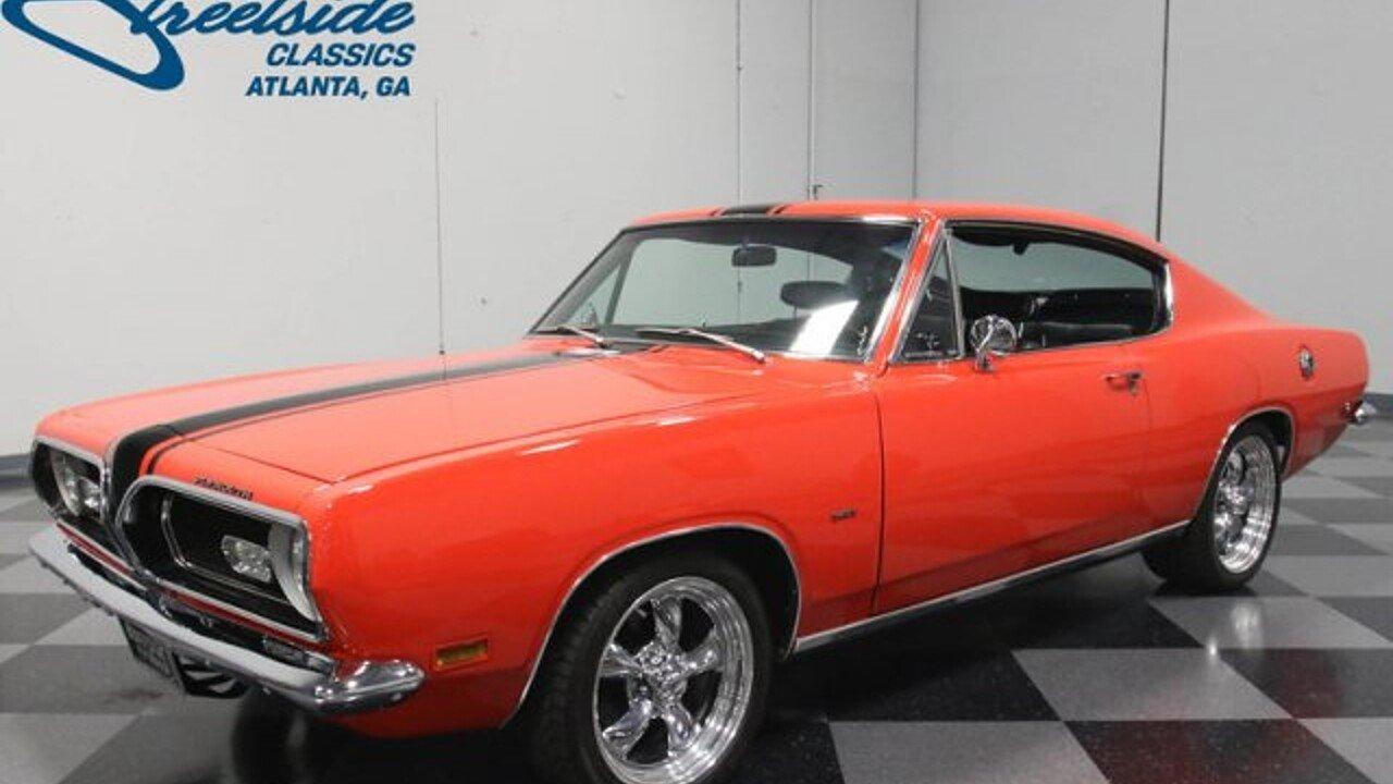 1969 Plymouth Barracuda for sale near Lithia Springs, Georgia ...