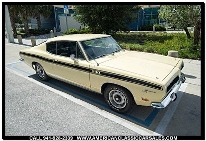 1969 Plymouth Barracuda for sale 100995424
