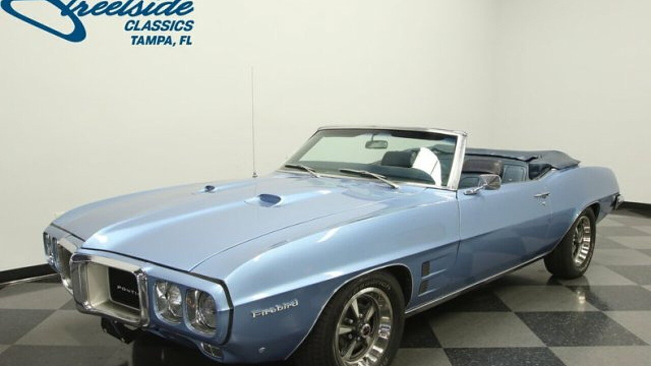 1969 Pontiac Firebird for sale near Lutz, Florida 33559 - Classics ...