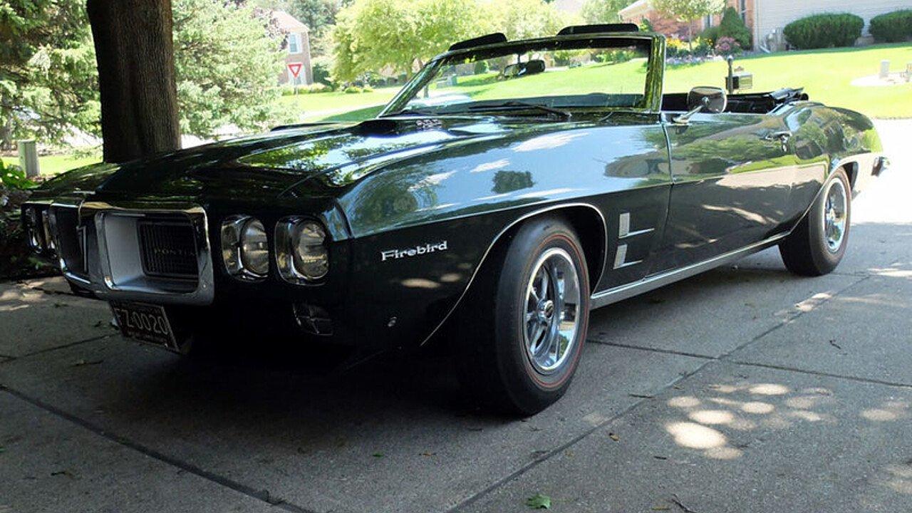 1969 Pontiac Firebird Convertible for sale near rochester hills ...