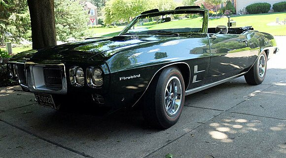 1969 Pontiac Firebird Convertible for sale 100969813