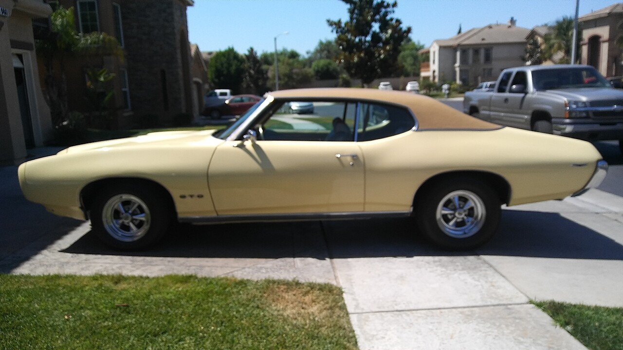 1969 Pontiac GTO for sale 100882698