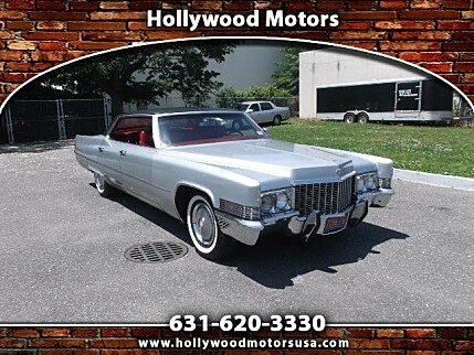 1970 Cadillac De Ville for sale 100877376