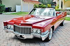 1970 Cadillac De Ville for sale 100977304