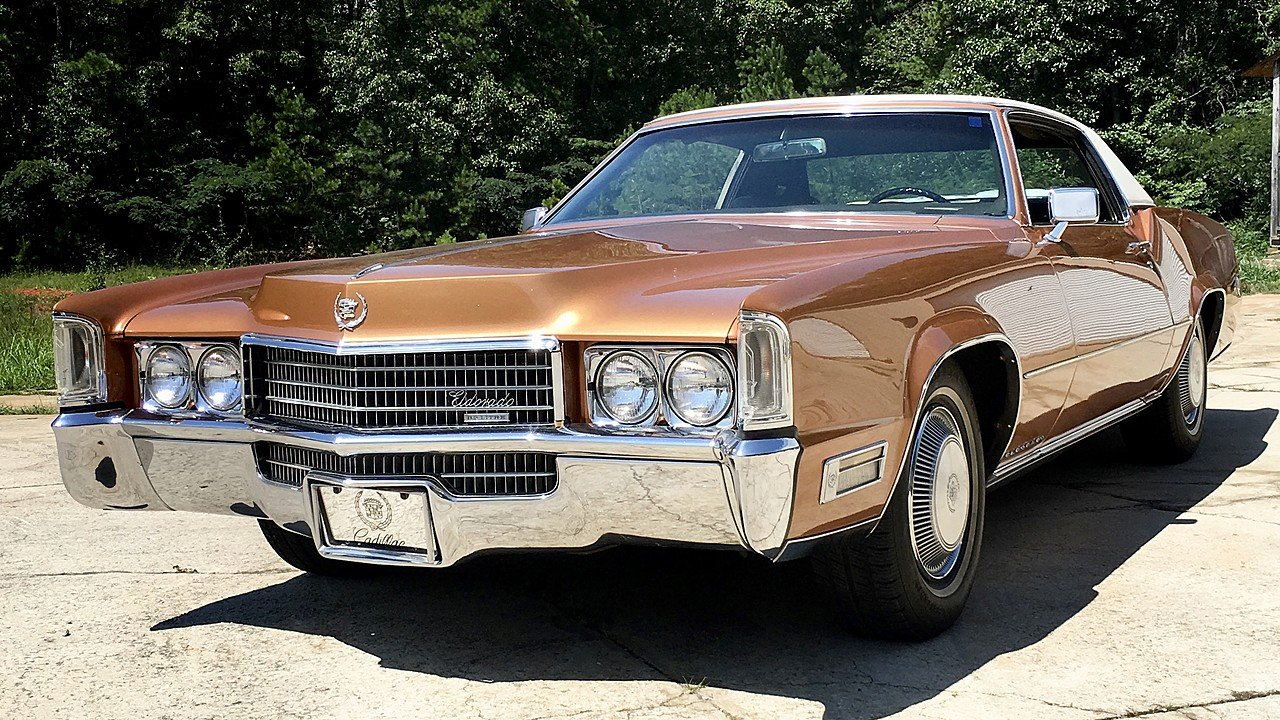 1970 Cadillac Eldorado Coupe for sale 100919683