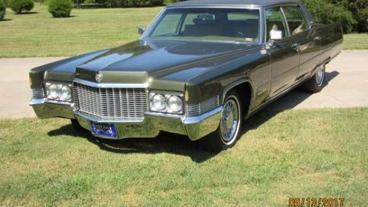 1970 Cadillac Fleetwood for sale 100911102