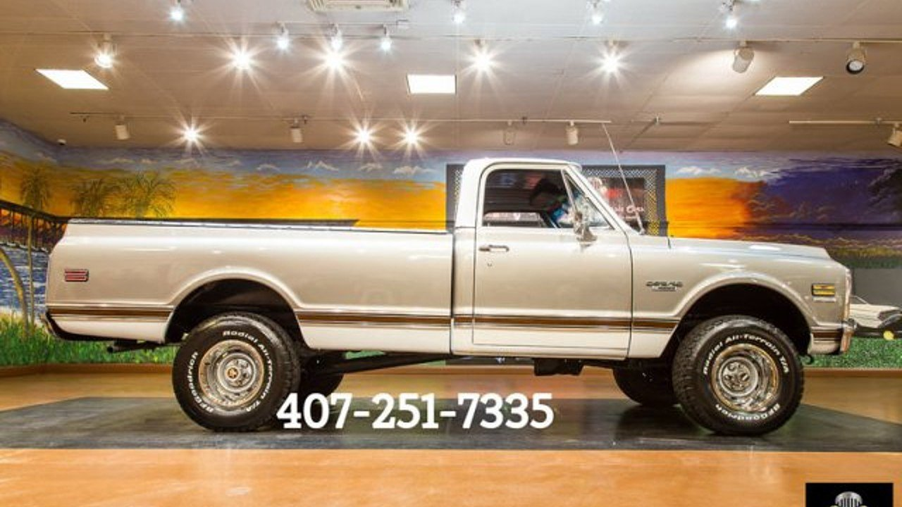 1970 Chevrolet C/K Trucks for sale 100905010