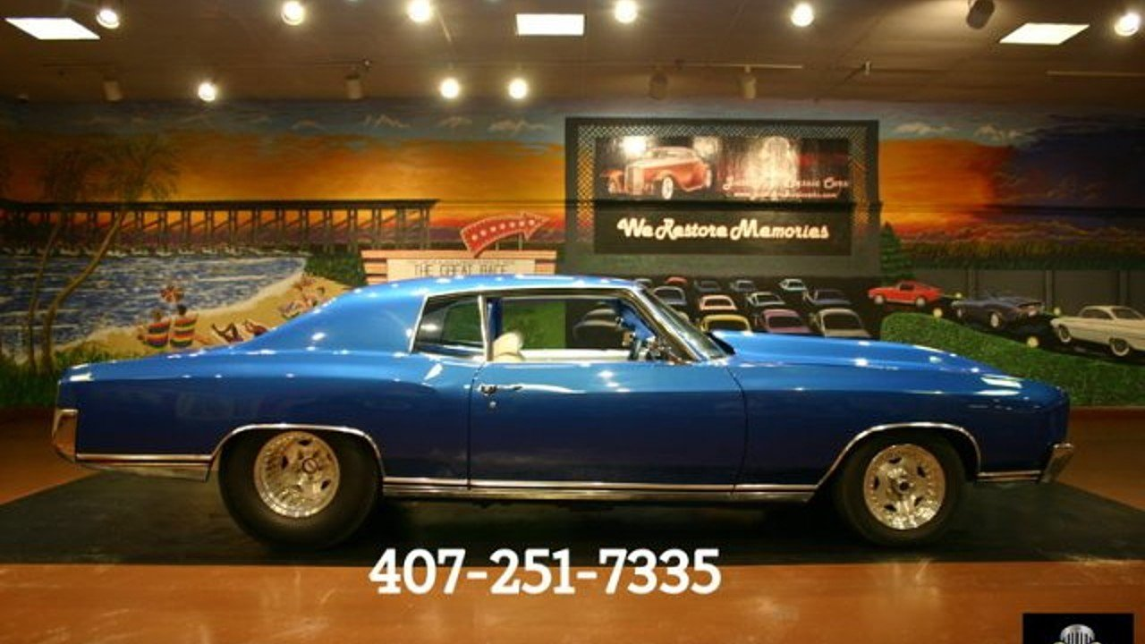 1970 Chevrolet Monte Carlo for sale 100890643