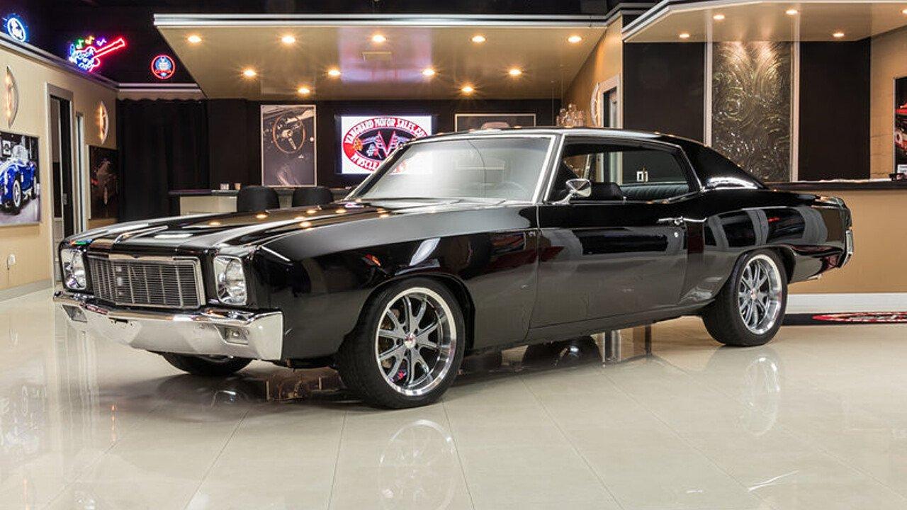 1970 Chevrolet Monte Carlo for sale near Plymouth, Michigan 48170 ...