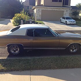 1970 Chevrolet Monte Carlo SS for sale 100865093