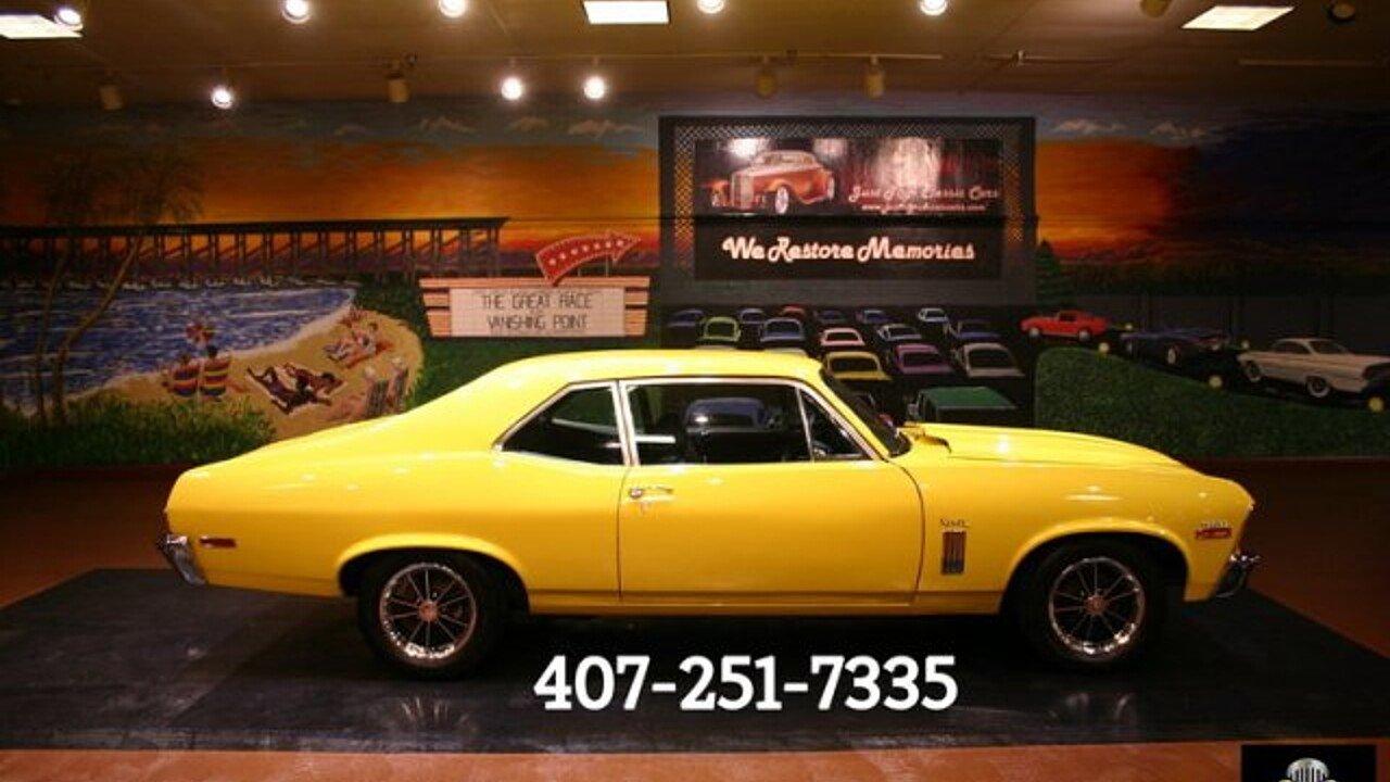 1970 Chevrolet Nova for sale near Orlando, Florida 32837 - Classics ...