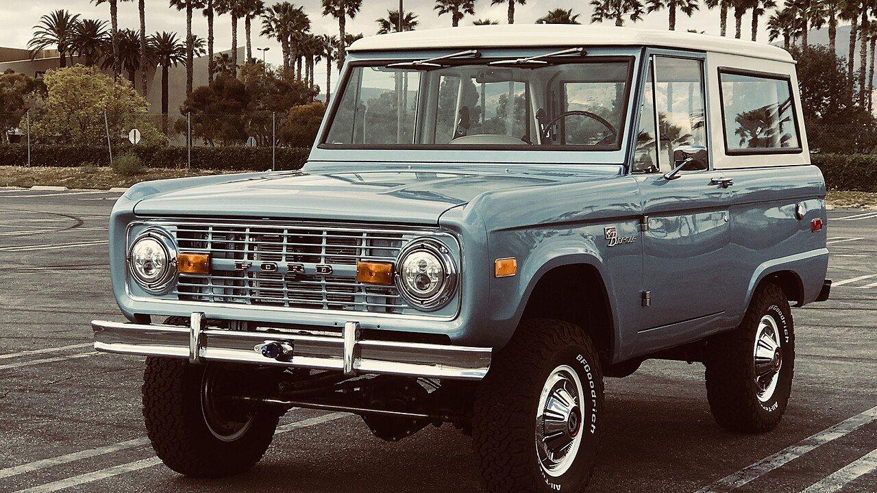 1970 Ford Bronco for sale near Chatsworth, California 91311 ...