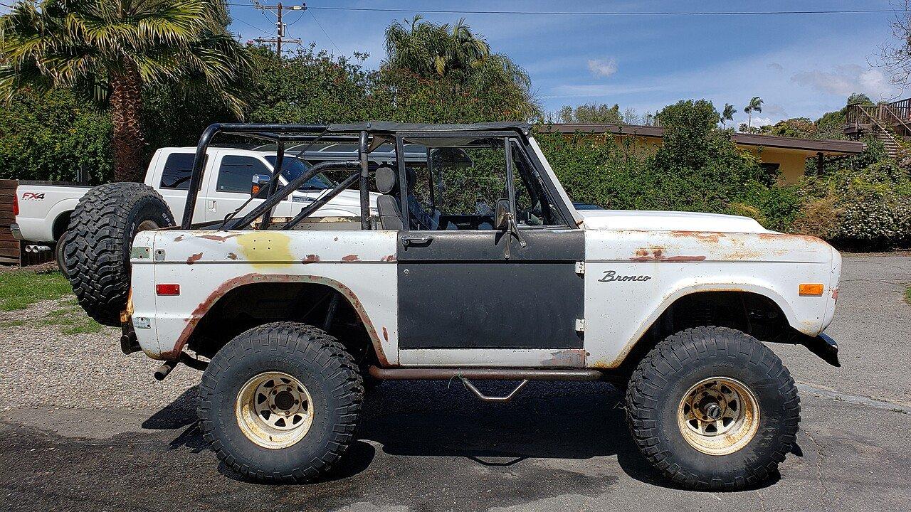 1970 Ford Bronco For Sale Near Encinitas California 92024 Full Size 100990476