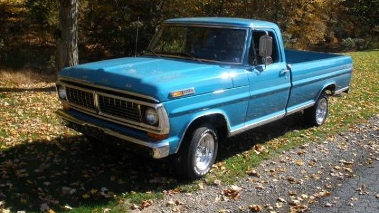 1970 Ford F100 for sale 100968750