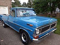 1970 Ford F100 2WD Regular Cab for sale 100904611