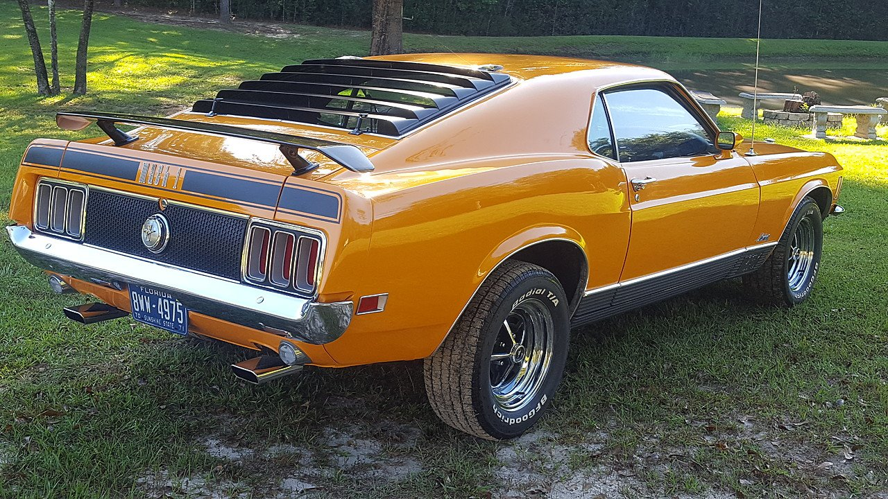 1970 Ford Mustang Mach 1 Coupe For Sale Near Milton Florida 32570 101039215