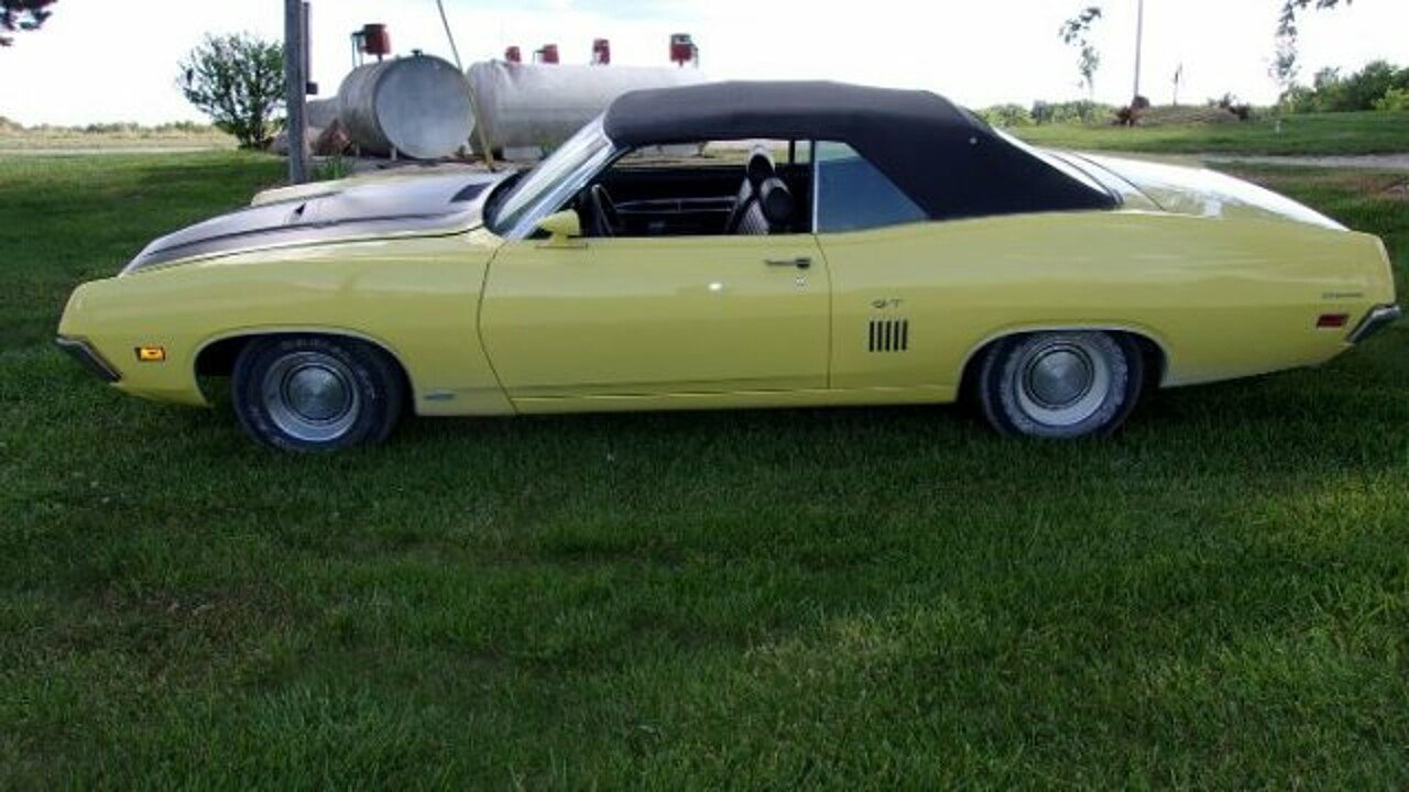 1970 Ford Torino For Sale Near Cadillac Michigan 49601 Classics Gt Convertible 100879563