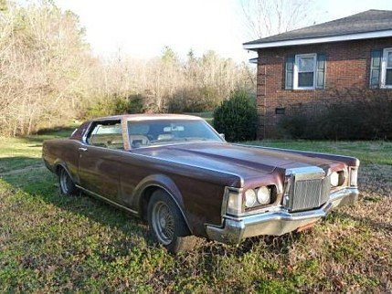 1970 Lincoln Continental for sale 100825186