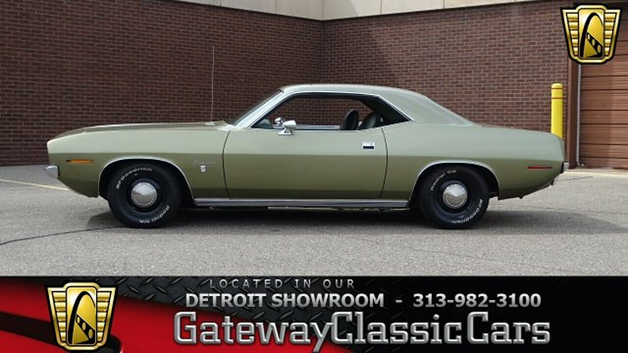 1970 Plymouth Barracuda for sale 100904804
