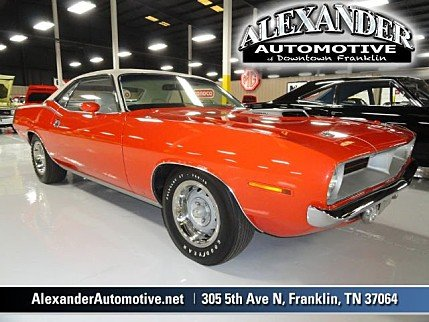 1970 Plymouth CUDA for sale 100860559