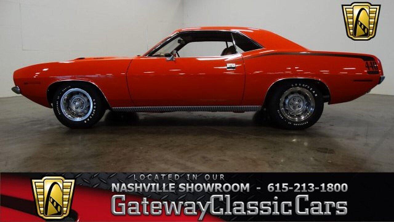 1970 Plymouth CUDA for sale near O Fallon, Illinois 62269 - Classics ...