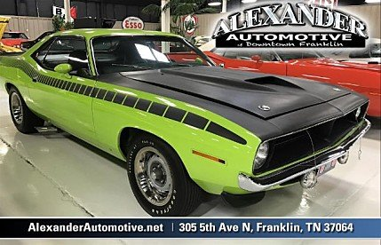 1970 Plymouth CUDA Classics for Sale - Classics on Autotrader