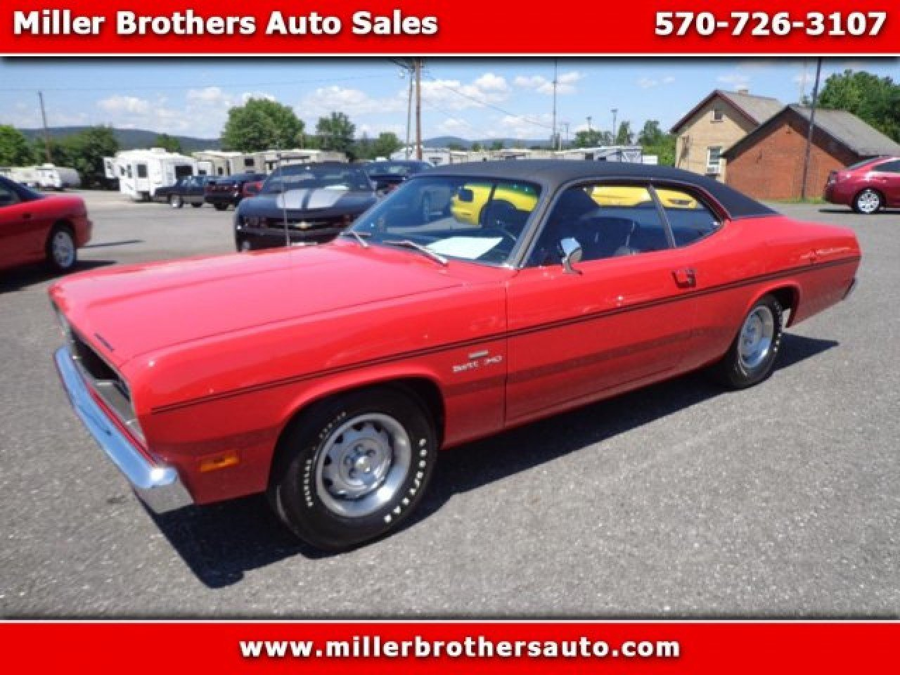 1970 Plymouth Duster For Sale Near Mill Hall Pennsylvania