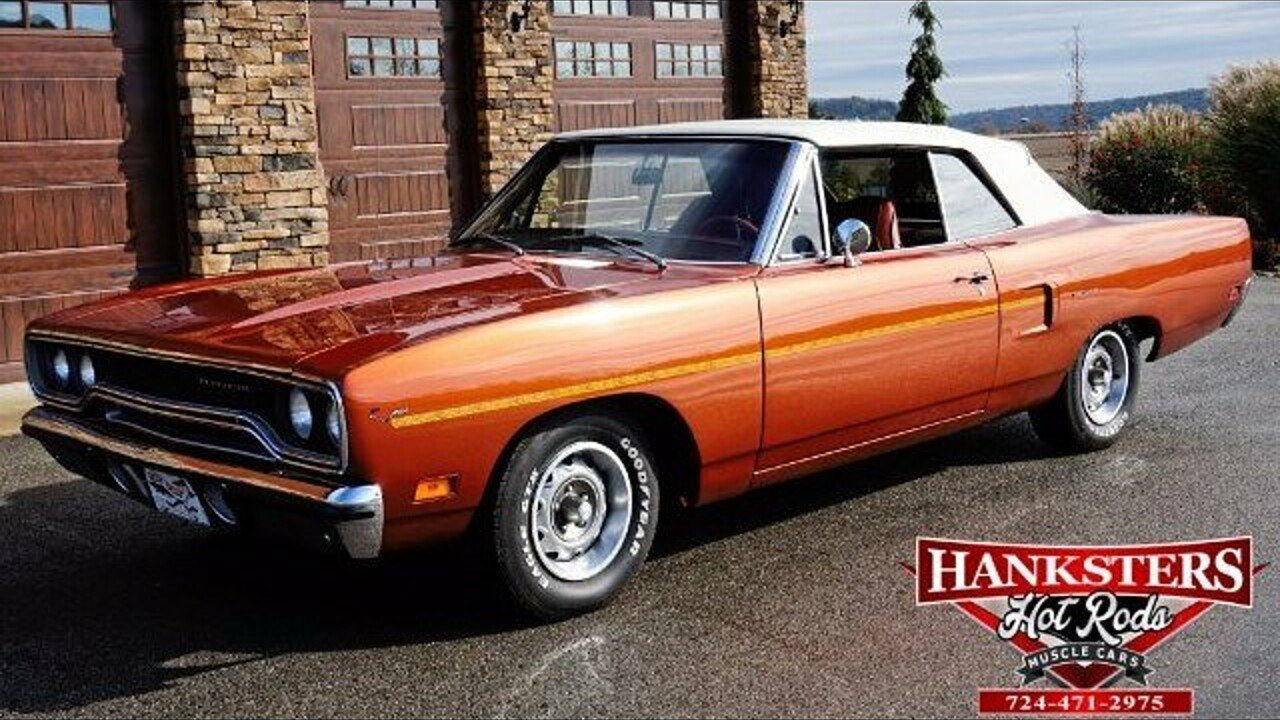 1970 Plymouth Roadrunner for sale near Indiana, Pennsylvania 15701 ...