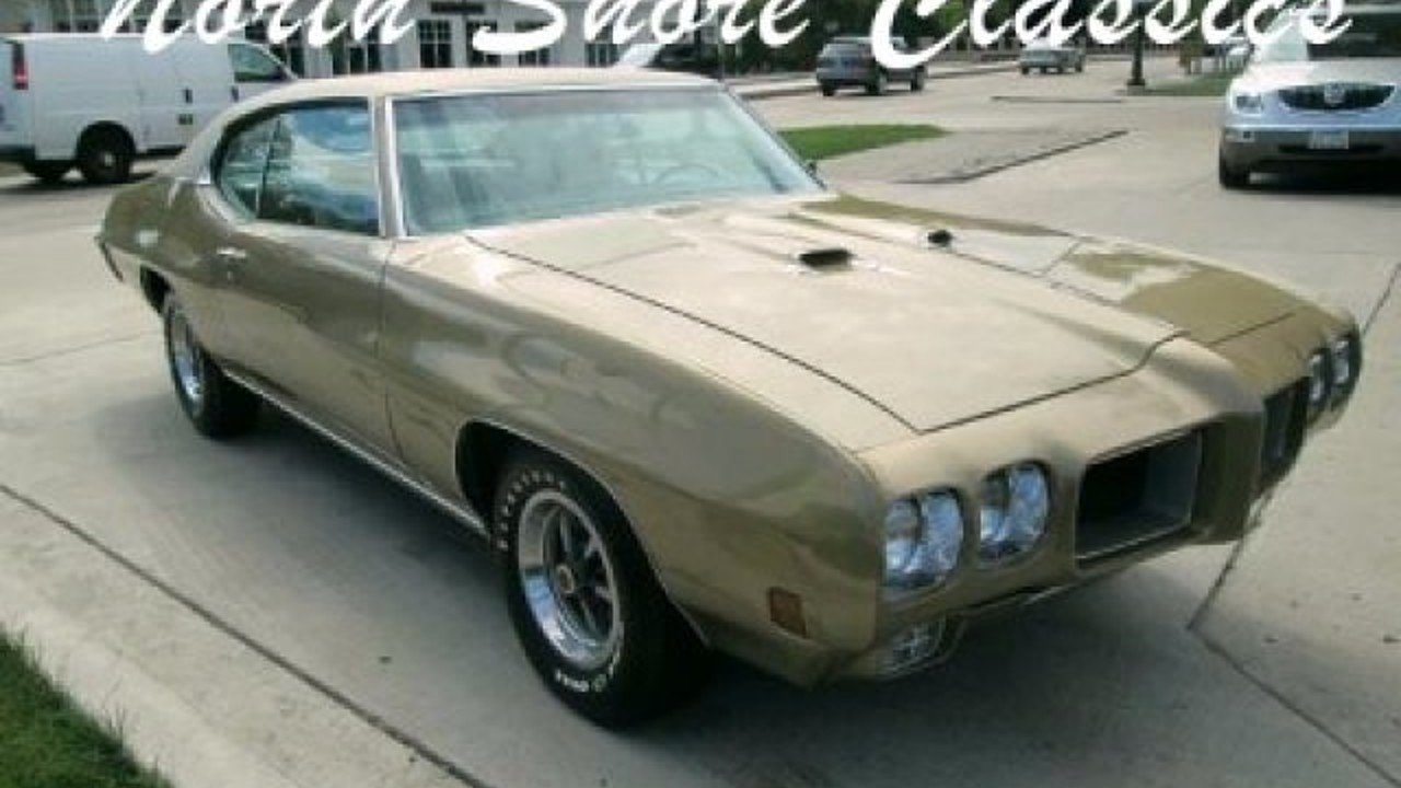 1970 Pontiac GTO for sale 100842169
